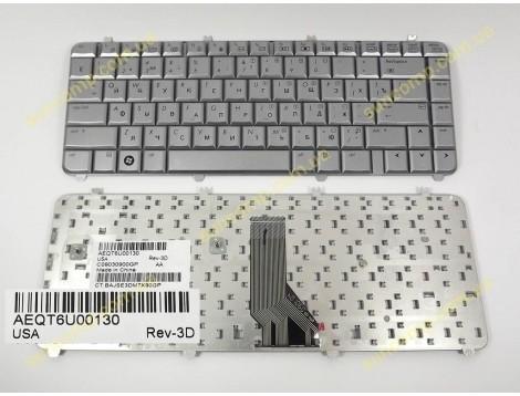 Клавиатура для HP DV5-1000, DV5, DV5T, DV5-1100, DV5-1200 ( RU Silver ). Оригинал.