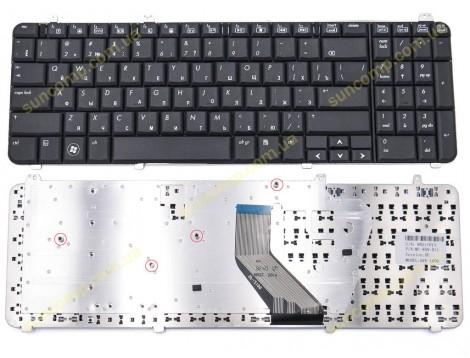 Клавиатура для HP dv6-1000, dv6-2000, dv6t-1000, dv6t-2300, dv6z-1000 ( RU Black ). Оригинал.
