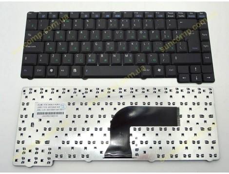 Клавиатура для ASUS A3A, A3V, A4, A7, F5, X50, A3AC A3E A3FC, A3AC, A3E, A3FC ( RU Black ). Шлейф право. Оригинал.