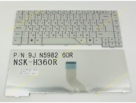 Клавиатура для ACER Aspire 4710, 4210, 5920, 5930, 6920, 4730, 4930, 5230, 5530 ( RU Gray ).