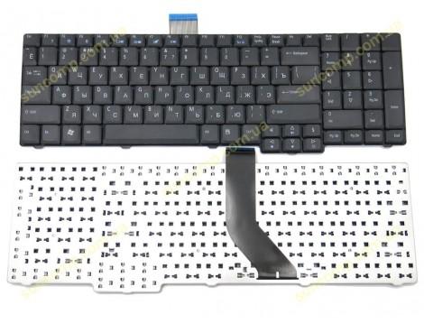 Клавиатура для ACER Aspire 8920, 8920G, 7730, 7530, 7230, 7630, ZY6 ( RU Black Длинный шлейф!). Оригинал.