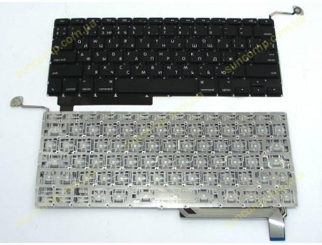 Клавиатура для APPLE A1286 Macbook Pro (2009-2012) MB985 (RU BLACK Горизонтальный Enter)