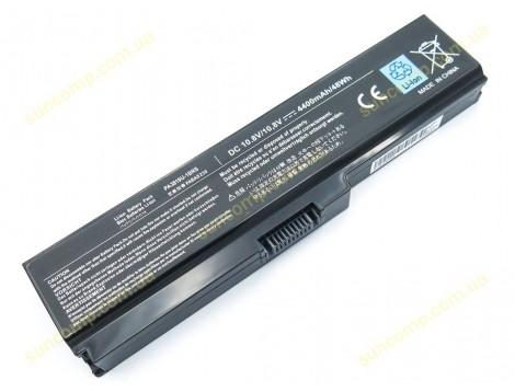 Батарея для Toshiba Satellite A655, A660, A665, C640, C645, C650, C655, C660 (PA3817U, PA3816U, PA3818U, PA3819U) (10.8V 4400mAh).