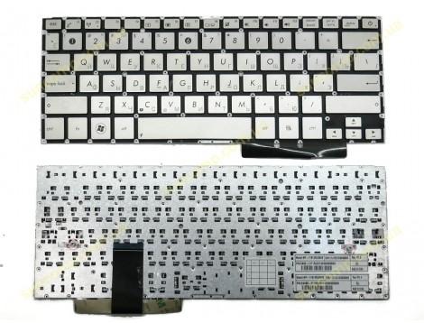 Клавиатура для Asus UX31, UX31A, UX32A, UX32L, UX32LA, UX32LN, UX32V, UX32VD ( RU Silver). Оригинал.