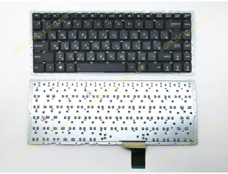 Клавиатура для ASUS A401, A401L, K401, K401L ( RU Black без рамки ).