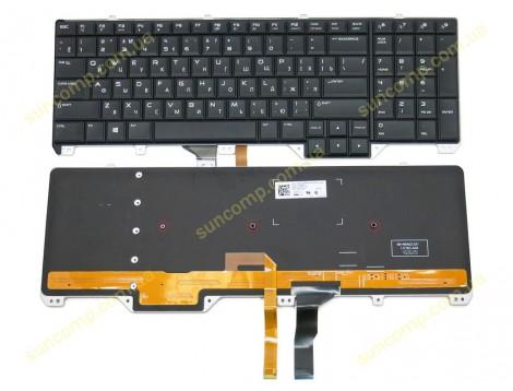Клавиатура для DELL Alienware 17 R2, 17 R3 ( RU Black with Backlit). Оригинал.