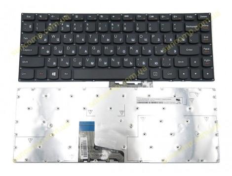 Клавиатура для Lenovo IdeaPad 500S-13ISK, U31-70, Yoga 3-1470 700-14ISK, ThinkPad Edge E31-70, E31-80 (RU Black без рамки). Оригинал.