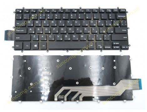 Клавиатура для DELL Inspiron 13 5368 5378 7375 7460 5568 7560 7569 7572 5370 7370 7373 7573 ( RU Black без рамки)